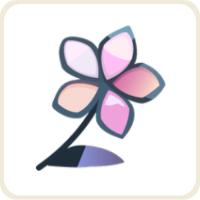 シャドーフラワー/ピンク