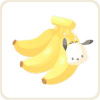 ポチャッコのバナナ