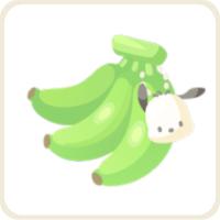 ポチャッコのバナナ/緑